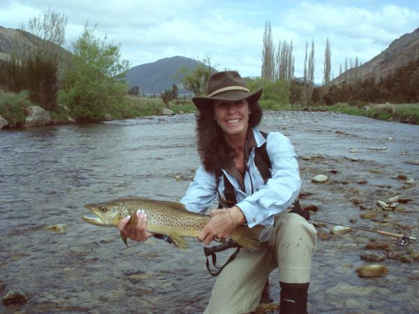 Fly fishing in south island new zealand river haven for New zealand trout fishing
